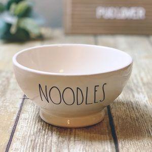RAE DUNN bowl { NOODLES }